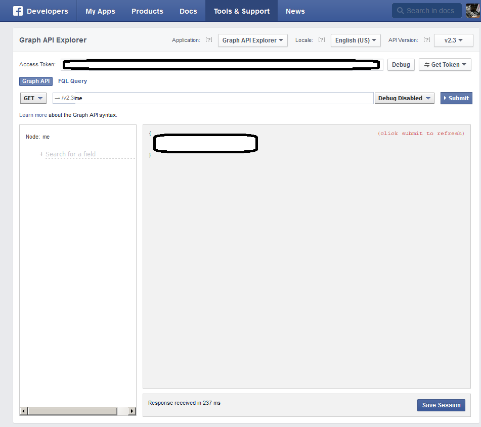 How to obtain an Access Token (user and page) from Facebook for